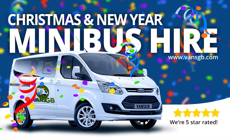 Christmas party minibus hire