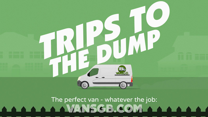 van hire for trips to the dump