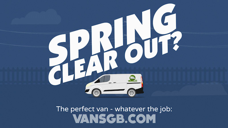 van hire for spring clear out