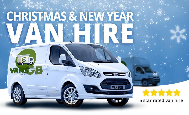 Christmas van hire