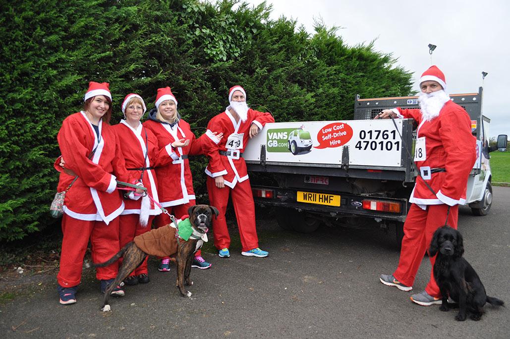 Santa Dash in Kenysham
