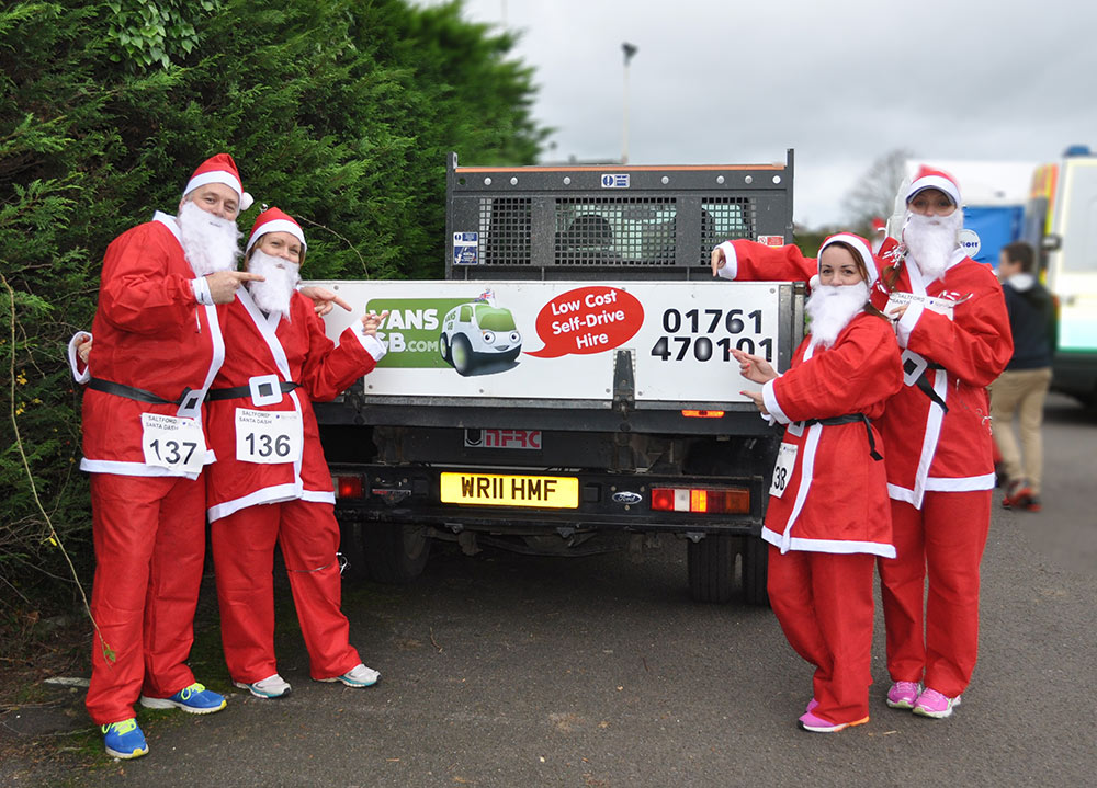 Santa Dash supported by VansGB